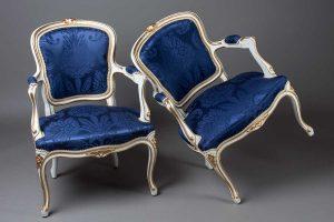 réfection fauteuil tissu  Dedar