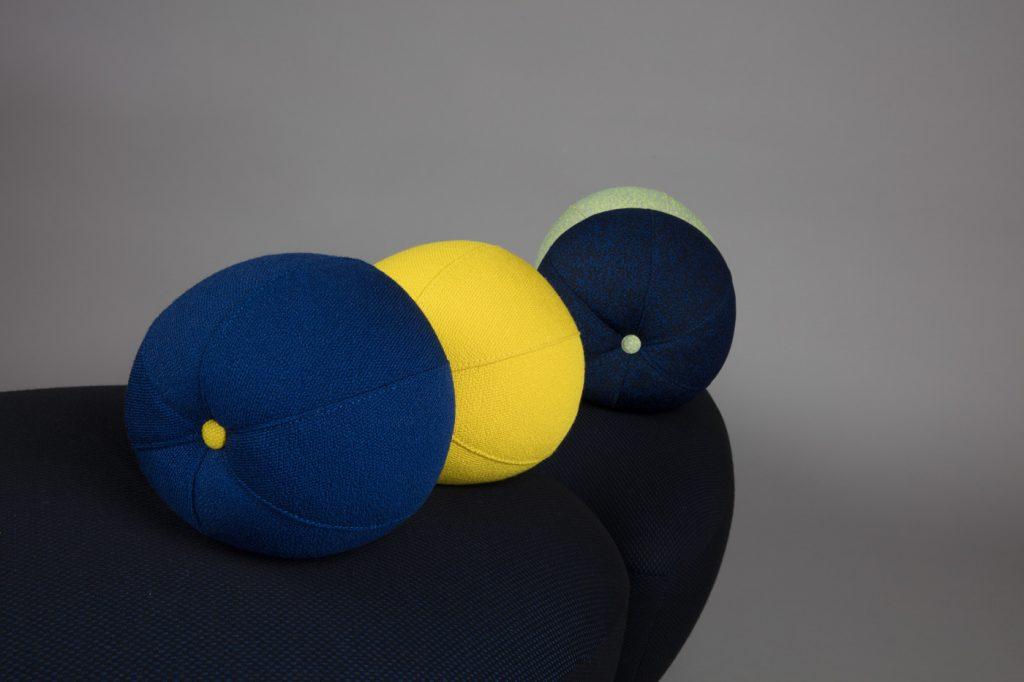 pouf modulable, création Le Coq & Le Crapaud